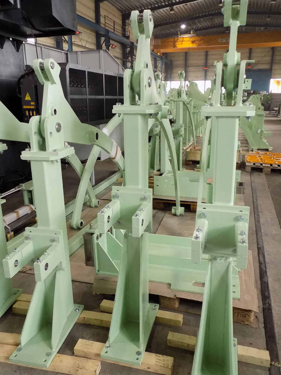 Amper Metal Kft. referencia Andritz AG. savkád fedélemelő szerkezeteinek gyártása